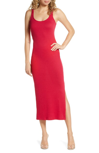a8e0fe1b1813 French Connection Tommy Rib Midi Dress In Mimosa | ModeSens