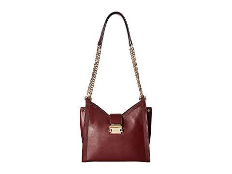 8de40064c997 Michael Michael Kors Whitney Small Leather Crossbody Bag In Oxblood ...