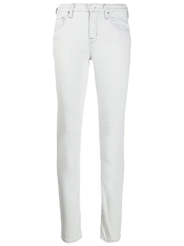 9edc88ed70e06e Jacob Cohen Kimberly Slim-Fit Jeans - Grey   ModeSens