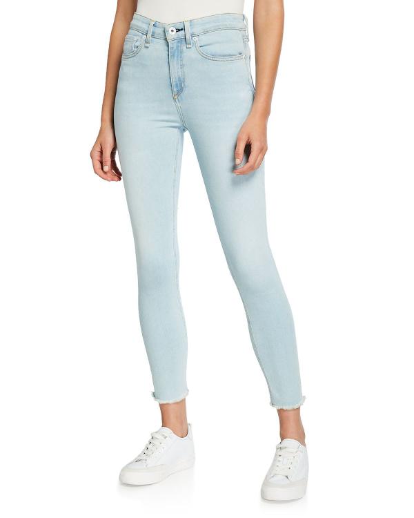 11a2f8f2 Rag & Bone Nina High-Rise Skinny Crop Jeans In Akron | ModeSens
