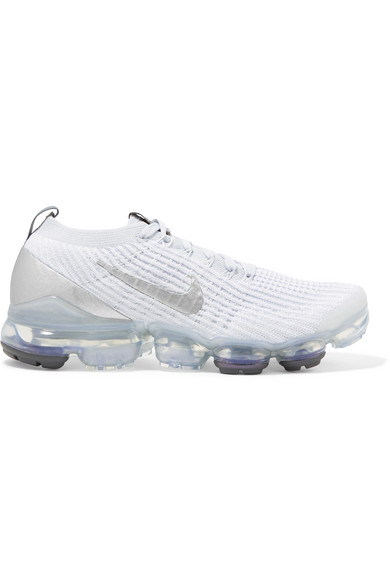 promo code a53bb a7188 Women's Air Vapormax Flyknit 3 Running Shoes, White - Size 5.5