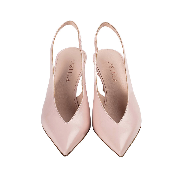 Le Silla Candy Slingback 70 Mm In Macaron