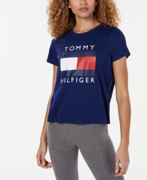 tommy hilfiger shirts women's logo