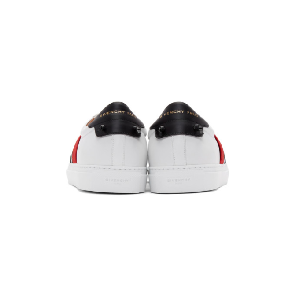 e99638f6b8e99 Givenchy Men's Urban Street Multi-Elastic Slip-On Sneakers In White ...