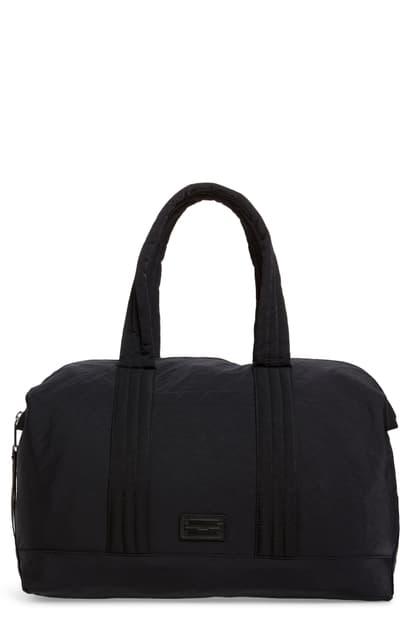 Rebecca Minkoff Womens Washed Nylon Weekender Bag Black One Size
