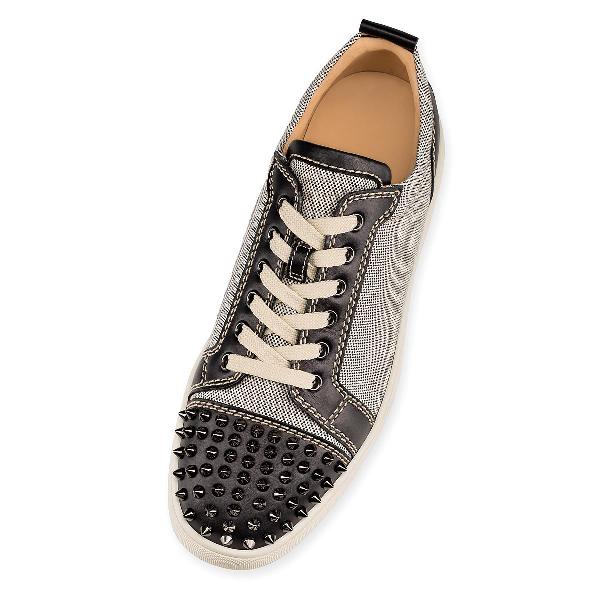 f273f9b55da Louis Jr Leather & Canvas Sneakers in Gray