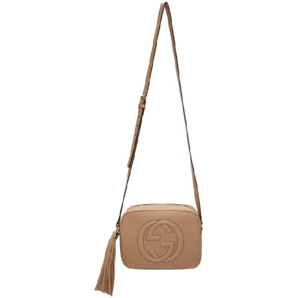 cc82ca47cca03d Gucci Tan Small Soho Disco Bag In 2754 Tan   ModeSens