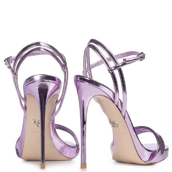 Le Silla Gwen Sandal 120 Mm In Lavender