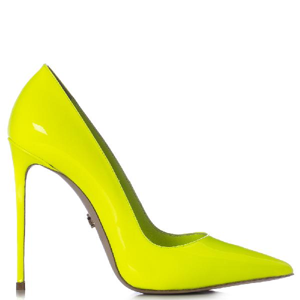 Le Silla Eva Pump 120 Mm In Yellow