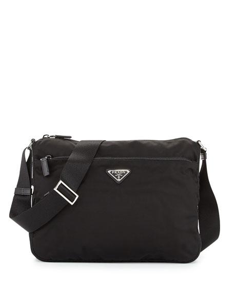 09832c2ba22a Prada Vela Shoulder Bag, Black (Nero), Nero/Black In 002 Nero B ...