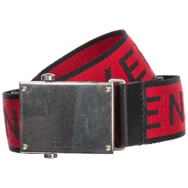 Givenchy Men's Belt In Red