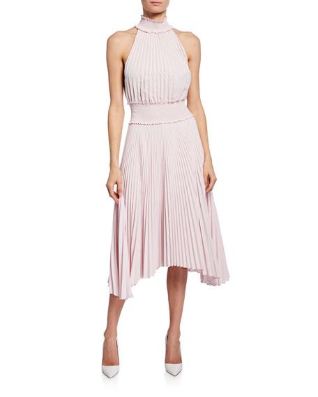 Champagne Hypnotizer Dress by BCBGMAXAZRIA for $111 | Rent