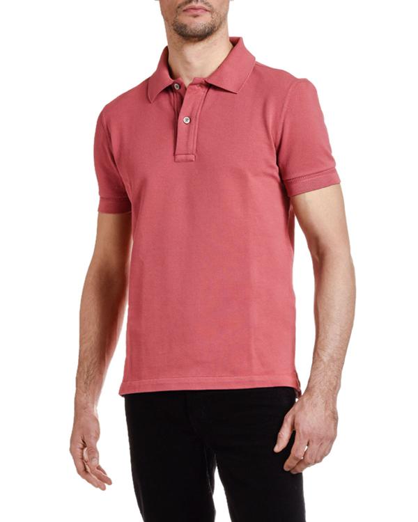 ef6651063445d Tom Ford Men's Pique-Knit Polo Shirt, Red   ModeSens