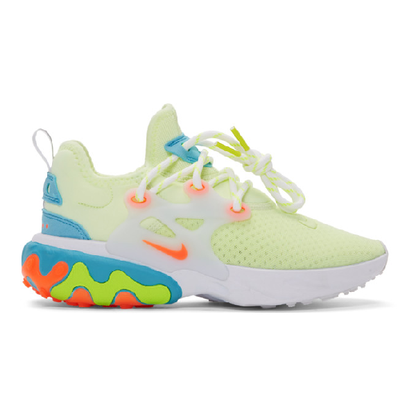 finest selection 3f605 e7456 Women's React Presto Running Shoes, Yellow - Size 7.5 in 700 Barely