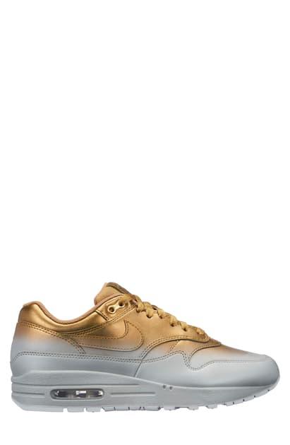 best website bf4ec ab237 Air Max Metallic Ombre Sneakers in Metallic Gold/ Platinum