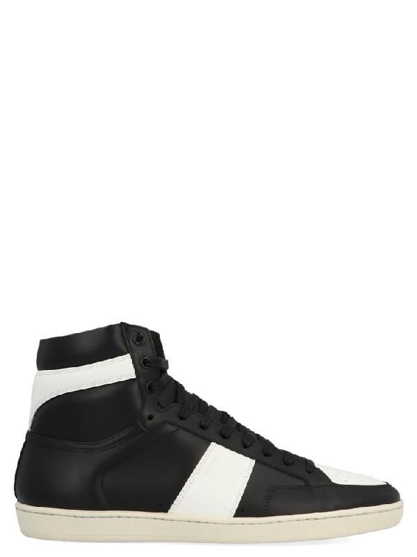 eb785b3b48b Saint Laurent Sl/10H Signature Court Classic High Top Sneaker In White