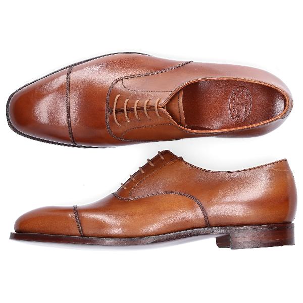 Crockett & Jones Business Shoes Oxford Audley In Beige