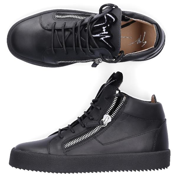 861ef71dbd884 Giuseppe Zanotti Boots Flat Kriss In Black | ModeSens
