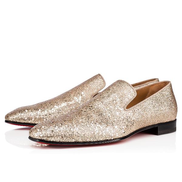 detailed look d66ed 336a8 Men's Dandelion Glitter Formal Slippers in Platine