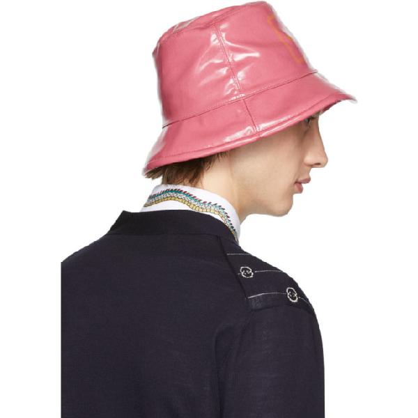 Gucci Pink Montecarlo Crystal Bucket Hat