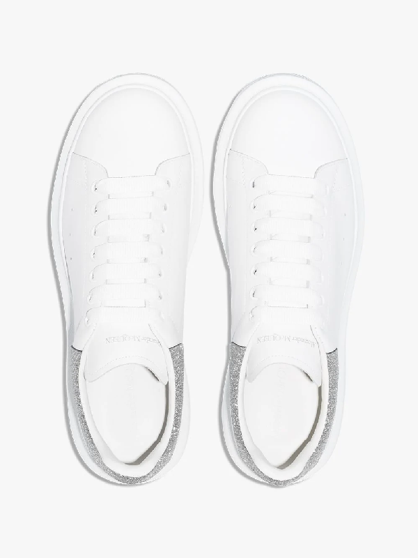 Alexander Mcqueen Chunky Low-Top Sneakers In White