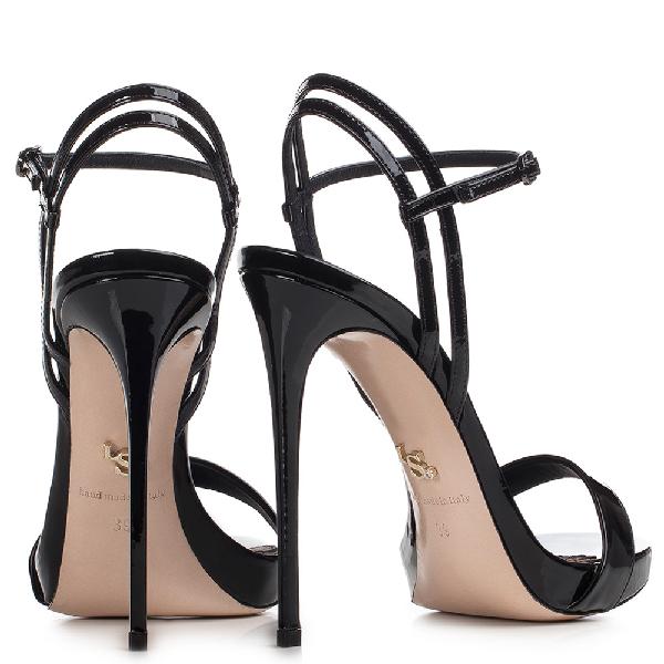 Le Silla Gwen Sandal 120 Mm In Black