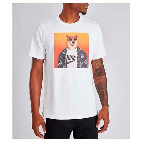 reputación Traición mental  Nike Men's Sportswear Dog T-shirt In White   ModeSens
