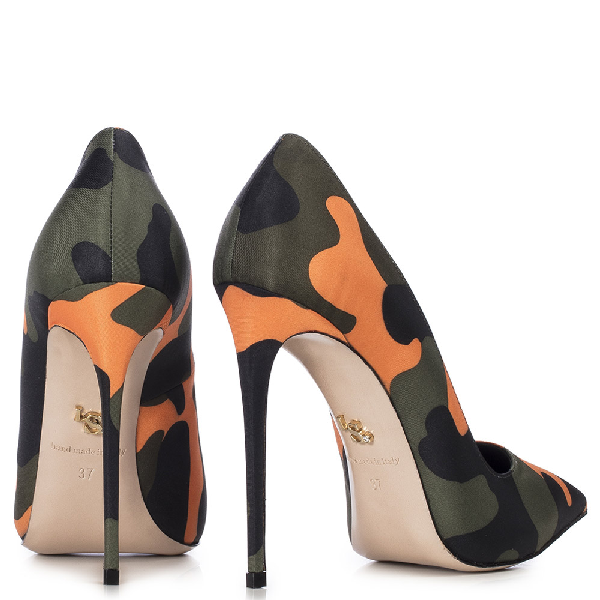 Le Silla Eva Pump 120 Mm In Army