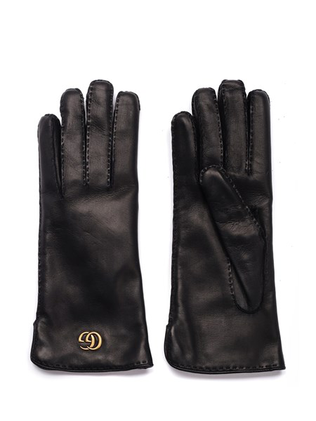 a2a44a2985b93 Gucci Gg Maya Embossed Leather Gloves In Black   ModeSens