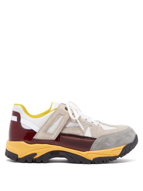 Red Margiela Mens Top Low Trainers Maison Burgundy Security In 6ybIYfgv7