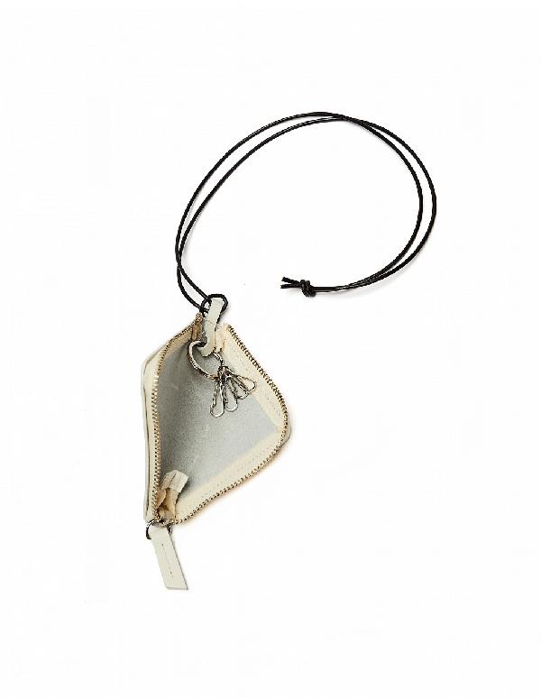Yohji Yamamoto White Leather Key Bundle