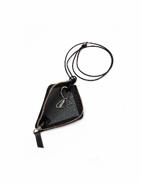 Yohji Yamamoto Black Leather Key Bundle