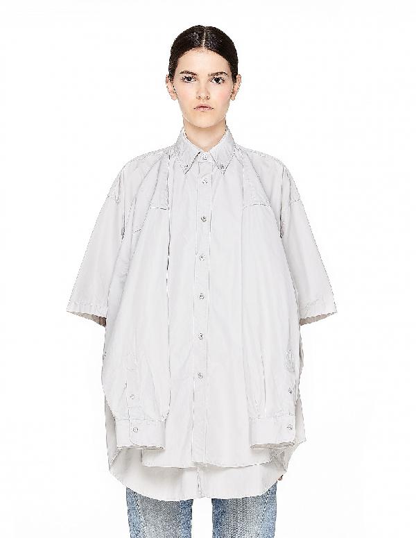 1a2bfa17 Balenciaga Light Grey Double Shirt | ModeSens
