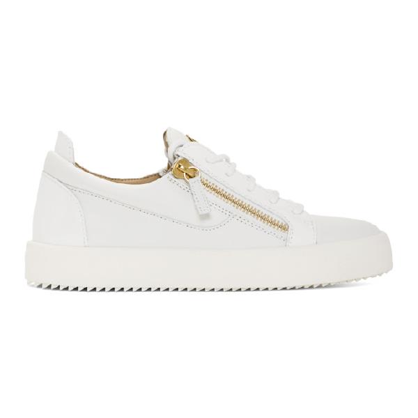 9522de726129a Giuseppe Zanotti Design Sneakers Frankie Leather White Color In Birel  Bianc. SSENSE. 600Login to see price