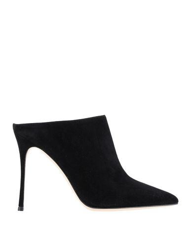 Sergio Rossi Women's Godiva Pointed-Toe High-Heel Mules In Black