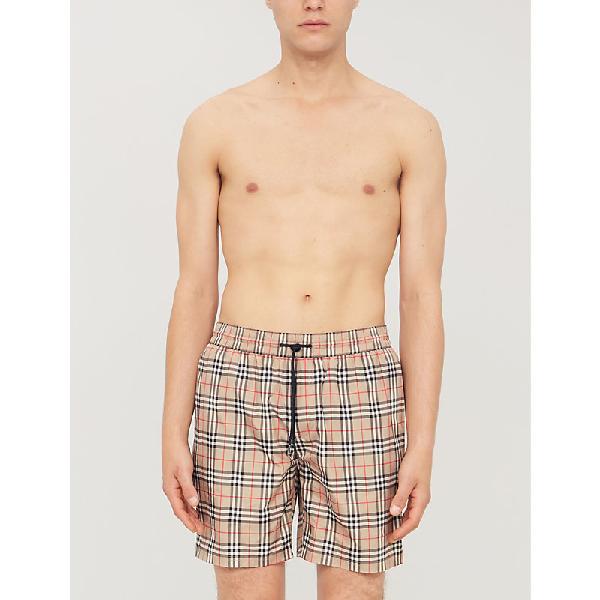 799ada580a Burberry Vintage Check Drawcord Swim Shorts In 105877 Anti | ModeSens