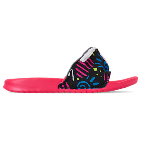 nueva precios más bajos oferta especial venta profesional Nike Benassi Jdi Fanny Pack Sport Slide In Pink | ModeSens