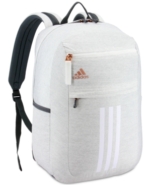 Adidas Originals Adidas League 3-stripe Backpack In Jersey White ...