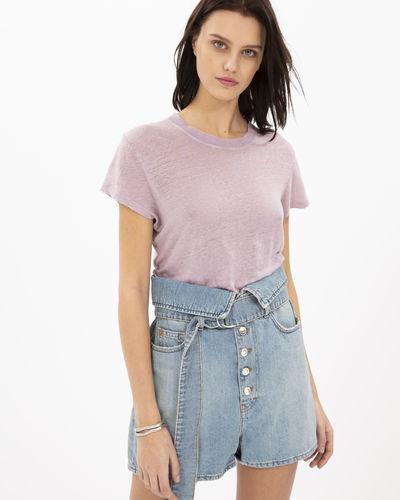 Iro Third T-Shirt In Light Purple