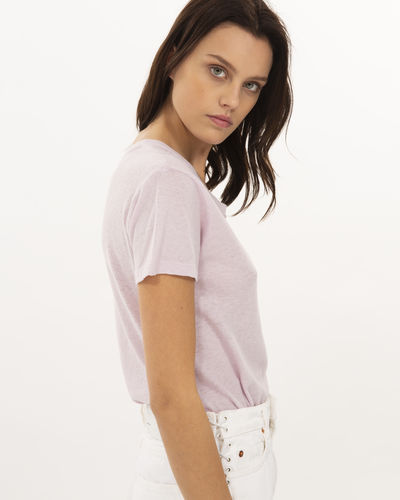 Iro Strand T-Shirt In Light Lavender