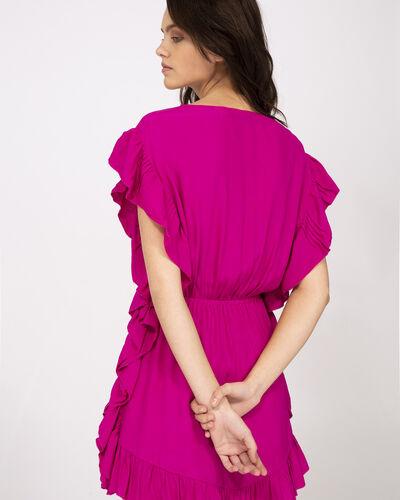Iro Zestful Dress In Fushia