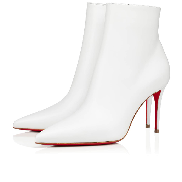 new style 29c23 45b38 So Kate 85 Leather Ankle Boots in White