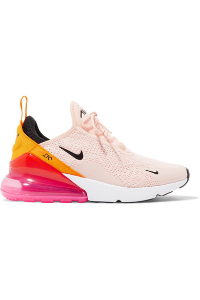 Nike Women S Air Max 270 Low Top Sneakers In Washed Coral Black