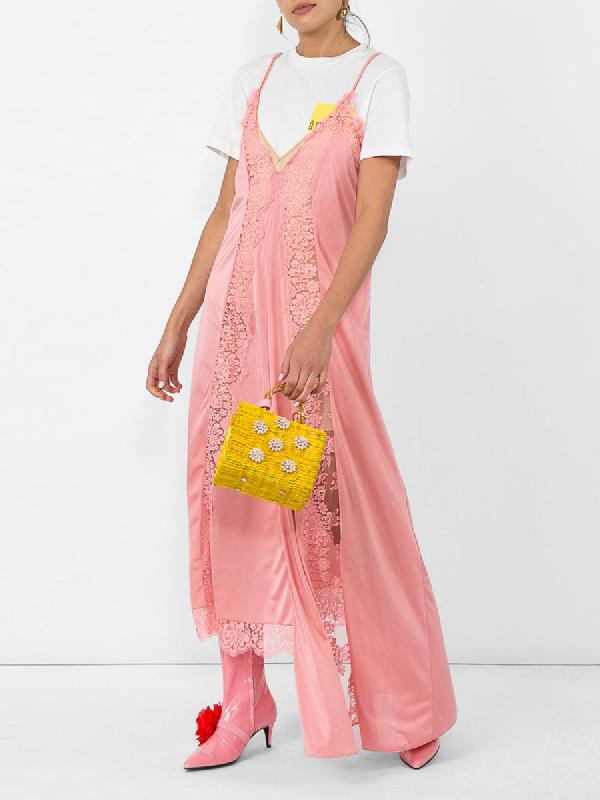 Leandra Medine Kitten Boot In Pink