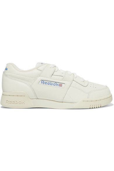 5075b7b605 Reebok Workout Plus 1987 Tv Leather Sneakers In White | ModeSens
