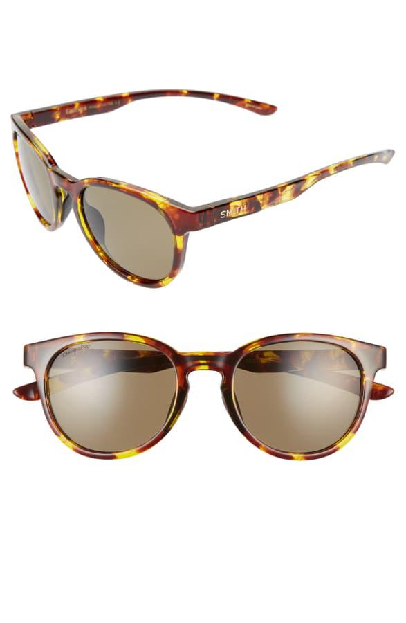 f6fce75e5 Smith Eastbank 52Mm Chromapop(Tm) Polarized Round Sunglasses - Vintage  Tortoise/ Green