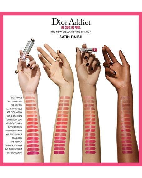 Dior Addict Stellar Shine Lipstick 536 Lucky 0.11 Oz/ 3.2 G