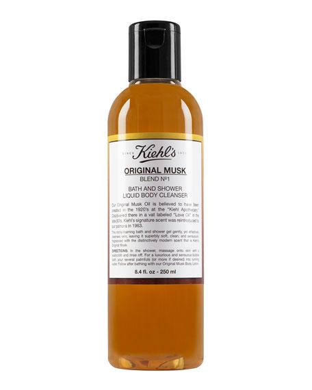 KIEHL'S SINCE 1851 ORIGINAL MUSK BATH & SHOWER LIQUID BODY CLEANSER, 8.4 OZ.,PROD26400004