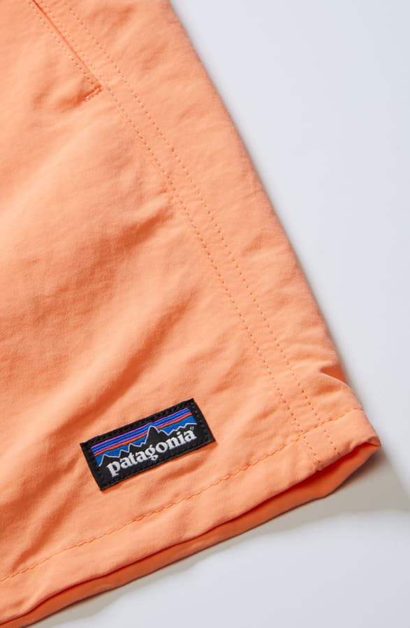Patagonia Baggies Shorts In Peach Sherbet