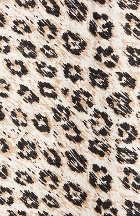 Joie Collen Leopard-Printed Wrap Skirt In Cappuccino